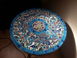 how to make a mosaic table top mosaic table weekend diy project projects try pinterest dma homes