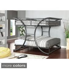 Bunk Bed Retailers Furniture Of America Armentia Metal Bunk Bed Buy
