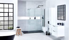 Baths And Showers Frontline Bathrooms Introduces Brand New Range Of Monochrome Baths