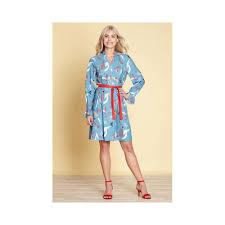 light blue dress abstract strokes light blue dress le solferine
