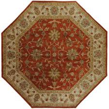 Terracotta Area Rugs by Artistic Weavers Franklin Terracotta 8 Ft X 11 Ft Area Rug Val