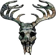 camo deer skull clipart china cps
