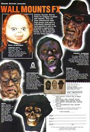 cinema secrets wall mounts u0026 chucky mask ad blood curdling blog