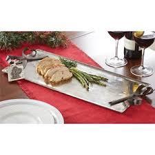 mud pie serving platters mud pie yuletide christmas metal bow 20 by 8 5 serving