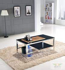 Coffee Table Glass gifted office furniture coffee table glass coffee table stainless