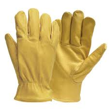 firm grip pro full grain deerskin gloves in large 5137 06 the