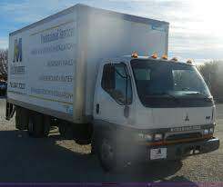 mitsubishi fuso interior 2000 mitsubishi fuso fe box truck item d4725 sold decem