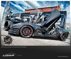 widebody truck loma gt2 z06 corvette body kit at sema winner cope design in denver