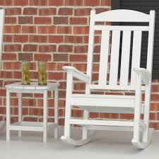 Recycled Plastic Rocking Chairs Polywood Presidential Recycled Plastic Rocking Chair Hayneedle For
