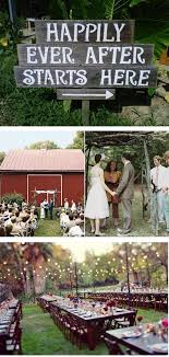 Backyard Wedding Centerpiece Ideas Charming Wedding Décor For Backyard Weddings Wedding Fanatic
