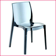 chaise de bureau transparente but chaise transparente design zebra par scab polycarbonate