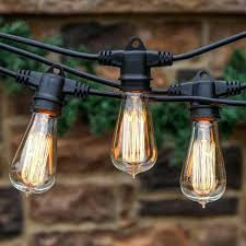 Edison Patio Lights Edison Bulb Outdoor String Lights Patio Lighting New York Pro