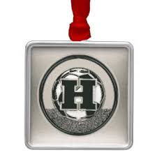 the letter h ornaments keepsake ornaments zazzle