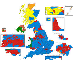 2016 Election Prediction Map by United Kingdom General Election 2017 Wikipedia