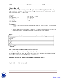 acids and bases biology lab manual