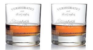 geschenkideen f r hochzeitstag whiskygläser zur goldenen hochzeit persönliche geschenkidee für
