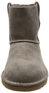 ugg women u0027s classic unlined mini perforated spring boot mole