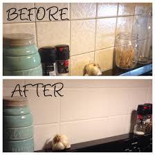 painted kitchen backsplash photos kitchen backsplash painted over ugly old tile using annie sloan