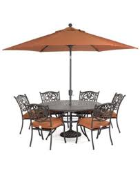 Patio Table And Chair Sets Chateau Outdoor Cast Aluminum 7 Pc Dining Set 60