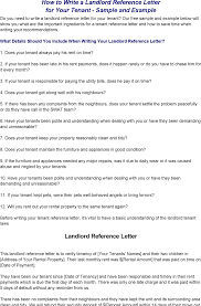 download landlord reference letter for free tidyform