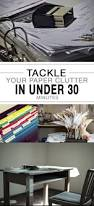 tackle your paper clutter in under 30 minutes