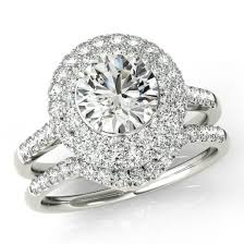 moissanite wedding sets moissanite wedding sets by jewelers forever one