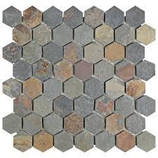 Quartzite Slate Subway Backsplash Tile by Slate Mosaic Tile Backsplash Roselawnlutheran