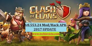 download game mod coc thunderbolt download clash of clans 8 553 24 mod hack apk 2017 update techinvicto