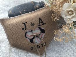 Baseball Wedding Ring by Baseball Wedding Wedding Ring Bearer Pillow Personalized Home