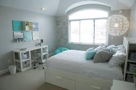 Brimnes Bed Frame Traditional Master Bedroom With Carpet Built In Bookshelf In