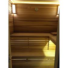 Bench Lighting Sauna Bench Facing Adds A Back Rest To Your Low Sauna Bench