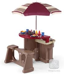 Patio Furniture Cyber Monday Step2 Grill U0026 Play Patio Café Is An Outdoor Play Kitchen View