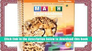 ebook online math expressions teacher edition volume 1 grade 5
