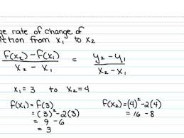 How To Find The Rate Of Change In A Table Average Rate Of Change Science And Education Pinterest