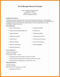 Resume Format Event Management Jobs by 11 Example Of Work Experience Buyer Resume