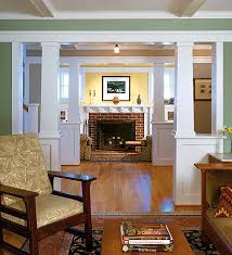 arts and crafts style homes interior design craftsman house interiors