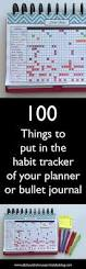 Things To Put In Your Resume 100 Things To Put In Your Habit Tracker Of Your Planner Or Bullet