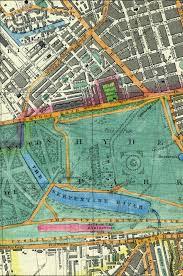London Maps Map Of London 1851 Cross U0027s London Guide
