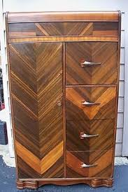 Furniture Maple Wood Furniture Frightening by Beautiful Antique Art Deco Waterfall Furniture Bedroom Set Full