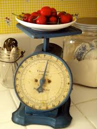 Vintage Kitchen Scales Cottage Blessings May 2011