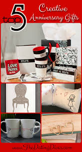 creative anniversary gifts top 5 creative anniversary gifts