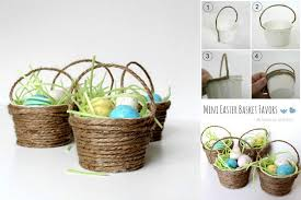 diy easter basket diy mini easter basket diy projects usefuldiy com