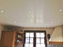 plafond suspendu cuisine faux plafond en pvc pour cuisine 48303 sprint co