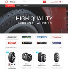 15 best ecommerce templates for wheels and tires websites