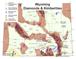 Map Of Colorado And Wyoming by Wyoming State Geological Survey