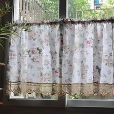 Cottage Kitchen Curtains by French Stripe Cafe Curtain Traditional Curtains Pottery Barn
