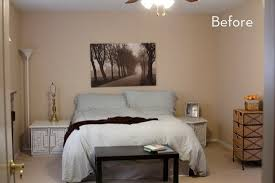 bedroom before and after before and after kelsey s bold and colorful bedroom makeover curbly