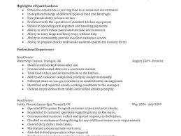 resume on customer service 17 server job description resume sample server responsibilities
