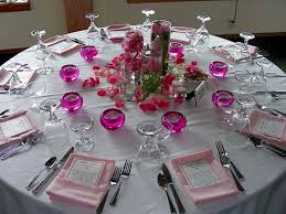 wedding reception table round decorations decorating of party