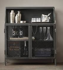 sideboard cabinet with wine storage american iron industry sideboard iron sideboard retro bar wine